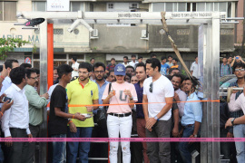Gym Launch By Jacqueline Fernandez And Dino Morea