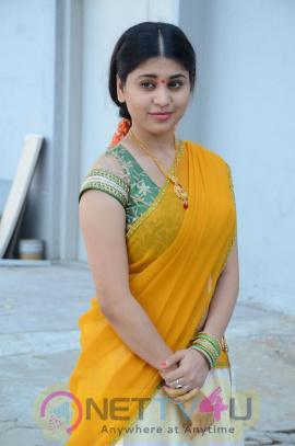 Hamida Pretty Pics At Bhadradri Movies Production No 1 Movie Opening Telugu Gallery