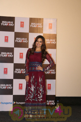 Hindi Film  Wajah Tum Ho Trailer Launch Dazzling Stills