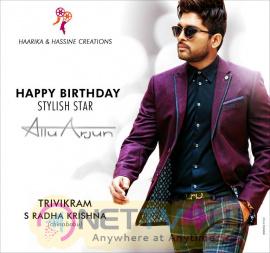 Stylish Star Allu Arjun Happy Birthday  Bunny Walls