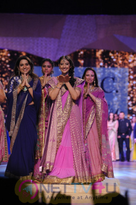 Hot Celebs Walk The Ramp At Caring With Style Fashion Show By Shaina NC N CPAA