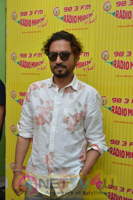 Irrfan Khan At Radio Mirchi To Promote Film Madari Photos Hindi Gallery