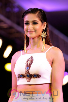ileana latest ramp walk stills for smile foundation