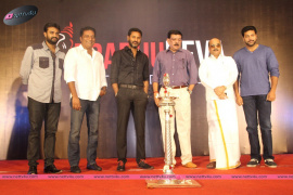 inaguration of prabhu deva studio