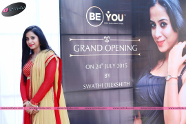 Inauguration Of Be You Unisex Saloon And Beauty Studio by Swathi Deekshith