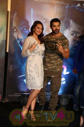 John Abraham & Sonakshi Sinha At Trailer Launch Of Film Force 2 Photos Hindi Gallery