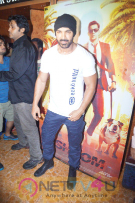 John Abraham Meets Fans In Gaiety Galaxy Exclusive Stills Hindi Gallery