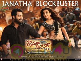 Jr NTR In Janatha Garage Movie Blockbuster Poster