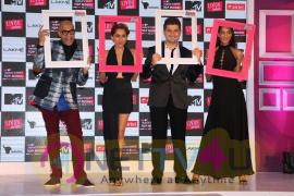 Judges Dabboo Ratnani And Lisa Haydon At The Launch Of India Next Top Model Season Photos Hindi Gallery