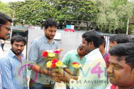 Jyo Achyutananda Team Visited Tirupathi Theaters Images Telugu Gallery