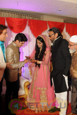 Jackie Shroff At Actor Ali Khan's Daughter's Engagement Ceremony Photos Hindi Gallery