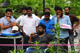 jigina movie working stills