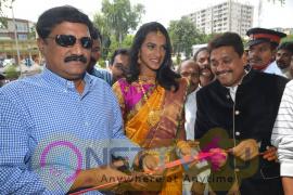 Kalamandir Prestigious 25th Store At Vizag Opening By PV Sindhu & Ganta Srinivas Rao Photos