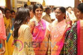 Kancheepuram Varamahalakshmi Silks Launch Photos Telugu Gallery