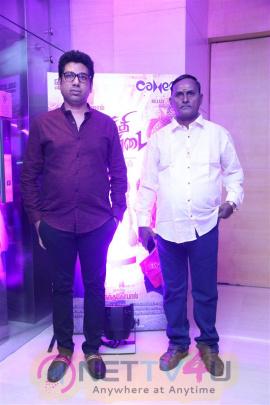 Kaththi Sandai Movie Audio & Trailer Launch Enticing Stills
