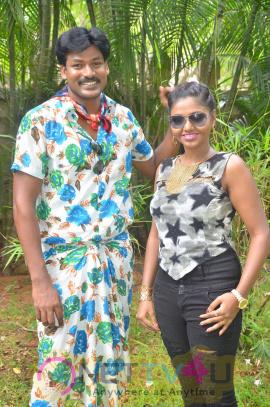 Kekran Mekran Company Movie Shooting Spot Stills Tamil Gallery