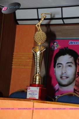 kakatiya cricket cup 2015   trophy launch
