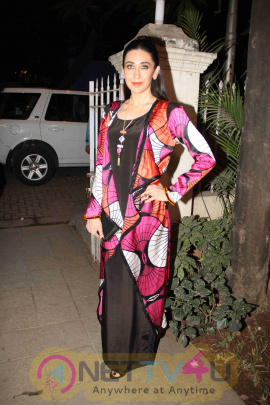 Karisma Kapoor At The Launch Of Spring/Summer Collection By Designer Eshaa Amiin Stills Hindi Gallery