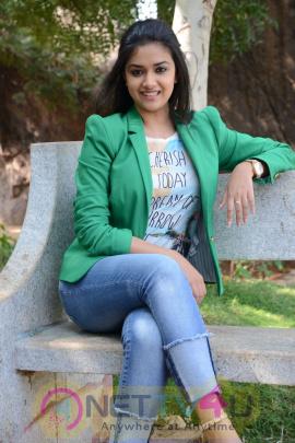 keerthi suresh malayalam film actress stills 38