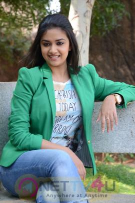 keerthi suresh malayalam film actress stills 40