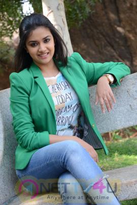 keerthi suresh malayalam film actress stills 42