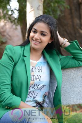 keerthi suresh malayalam film actress stills 48