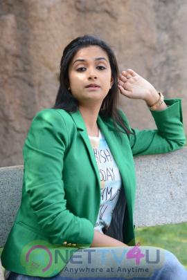 keerthi suresh malayalam film actress stills 49