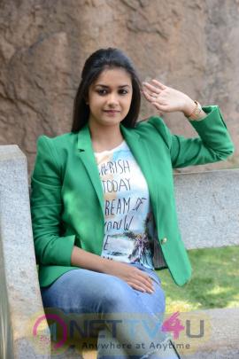 keerthi suresh malayalam film actress stills 52