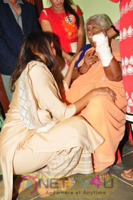 Lakshmi Manchu And Suma Kanakala Launches Jesus Old Age Home Khammam Photos
