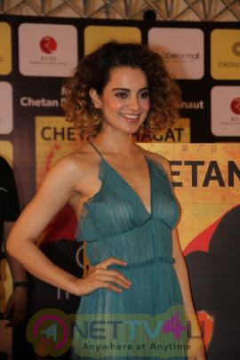 Launch Of Chetan Bhagat Novel One Indian Girl With Kangana Ranaut Stills Hindi Gallery