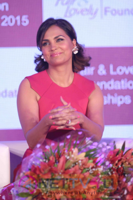 Lara Dutta Attends The Fair & Lovely Foundation Finale Event Photos Hindi Gallery