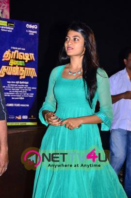 latest photos of actress anandhi jayakumar at trisha illana nayanthara movie trailer launch