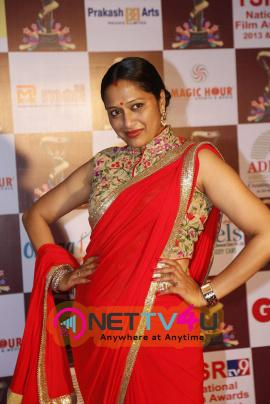 latest photos of actress anitha chowdhary at tsr tv9 national film awards