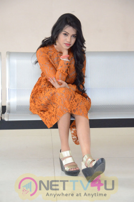 Latest Photos Of Actress Bhavya Sri At Kali Movie Launch Telugu Gallery