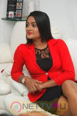 Latest Photos Of Actress Elli At Pramadam Success Meet