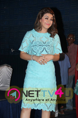 latest photos of actress hansika at romeo juliet movie press meet
