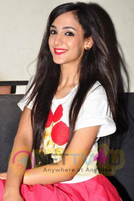 latest photos of actress kanika kapoor at sree mayuri theatre