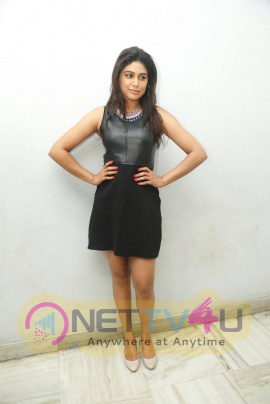 latest photos of actress manisha yadav at trisha ledaa nayanthara trailer launch