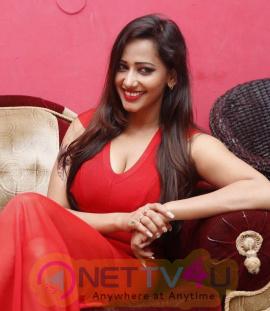 latest photos of actress sanjana singh at haveli coffee shop opening
