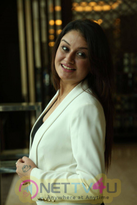 latest photos of actress sonia agarwal at chennai fashion week press meet