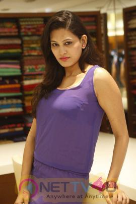 latest photos of actress swetha jadhav at kalamandir foundation day celebrations