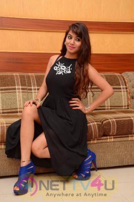 Latest Photos Of Actress Tanya Desai At Cinema Choopistha Maava Audio Launch