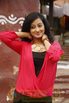 latest photos of actress tejaswini at kalanilayam creations movie press meet