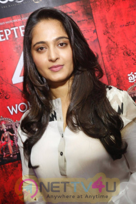 Latest Photos Of Anushka At Rudhramadevi Movie Press Meet