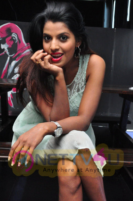 Latest Stills Of Actress Manisha Pillai At Friendship Day Carnival Poster Launch
