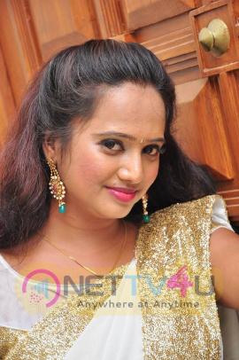 latest stills of actress nakshatra at cinema choopistha maava audio launch
