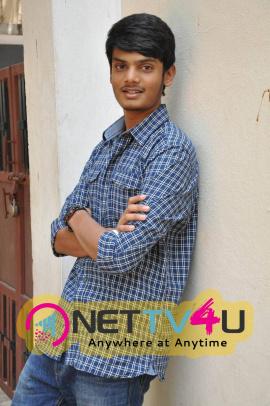 Latest Stills Of Akash Puri At Andhra Pori Movie Press Meet