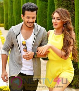 latest stills of akhil debut movie latest stills 4