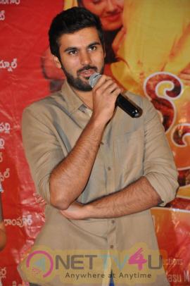 Latest Stills Of Tollywood Movie Basthi Premier Show Press Meet