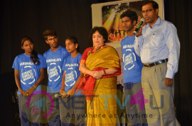 Latha Rajinikanth, Raghava Lawrence And Parthiban At Abhayam Event Photos Tamil Gallery